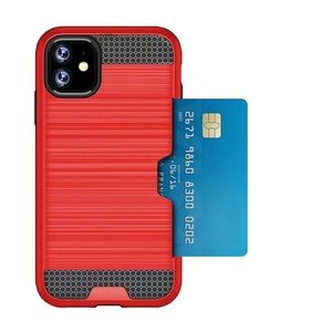 Other - Iphone 11 Red Card Holder Case